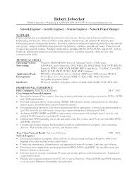 Resume Objective Examples Network Administrator As Well Sample For Prepare Perfect