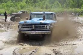 100 Ford Mud Truck BangShiftcom Morning Symphony This Bumpside Going Ding