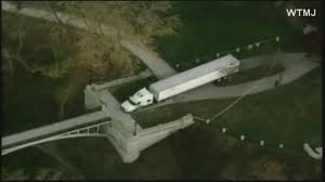 Man Drives Semi Over 2 Pedestrian Bridges, Gets Stuck, Blames GPS ... Truck Gps Route Navigation Android Best For Rv Drivers Unbiased Reviews Illinois Quires Posting Of Truck Routes Education On Tracking Cargo Trucks Voltswitchgpscom Gps With Routes Buy Vehicle And Sensor Monitoring Frotcom 2018 Youtube Route Planning Is No Easy Task Dezl 570lmt Garmin Dezl570lmt Rand Mcnally Inlliroute Tnd 510