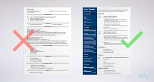 Plus Youll Get Tips And Right Vs Wrong Examples While Writing Your Resume See 20 Templates Create Here