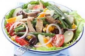recette cuisine nicoise salade niçoise traditionnelle recettes de cuisine française