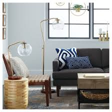 3 Globe Arc Floor Lamp Target by Madrot Glass Globe Floor Lamp Brass Project 62 Target