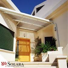 Louvered Patio Covers San Diego by Coronado California Solara Louvered Roof Patio Cover System