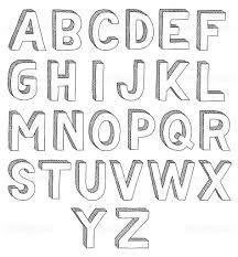 Stereoscopic Glossy Black Letter N Uppercase Stock Illustration