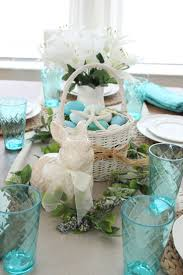 Dining Room Table Decorating Ideas For Spring by 48 Best Coastal Spring Decor Images On Pinterest Easter Decor