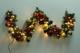 Puleo Christmas Trees by Christmas Garland Christmas Pvc Garland Christmas Ball Garland