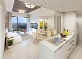 Studio Apartment Kitchen Ideas ᐉ Comfortable Modern Bright White Studio Apartment Kitchen