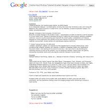 Sample Resume For Google Google Resume Examples Format Download Pdf