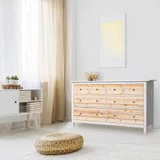 möbelfolie ikea hemnes kommode 8 schubladen design bright planks