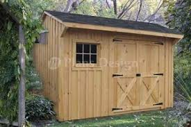 x 12 saltbox style storage shed project plans design 70812