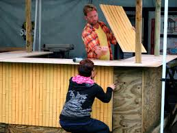how to build a tiki bar how tos diy