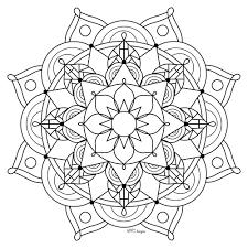 Coloriage Mandala Chiens Bondless