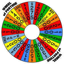 WOF Board Game Spinner