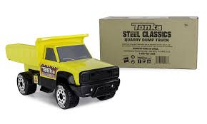 Amazon.com: Tonka Steel Classic Quarry Dump Truck: Toys & Games