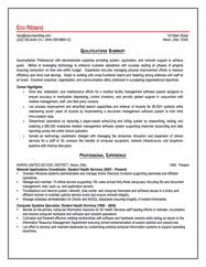 Information Technology And Tech Support Sample Resume