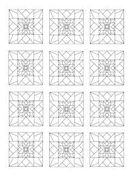 Use The Coloring Pages To Test Out Various Color Combinations Before Purchasing Fabric For A Quilt Project Or Simply Keep Book By Your Bed