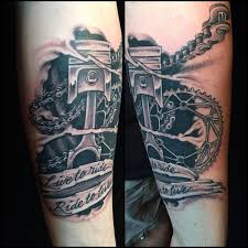 Live To Ride Bobsimmonstattoo Lasvegas Tattoo Artist