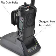 motorola apx 6000 6000li heavy duty carry holder leather case