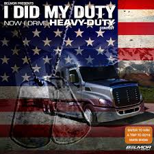 "BELMOR® ANNOUNCES 2nd ANNUAL ""I DID MY DUTY…NOW I DRIVE HEAVY DUTY ... Mid America Trucking Show Chrome Police Truck Show American Metal Louisville Truck Road Warriors Switching Ottawa Sales Blog Yard Night Shoots In Kentucky Usa Mats Bangshiftcom 2017 Gallery Inside The Midamerica Unlimited Offroad Jeeps Trucks Utvs More Off Photos Celebs Trucks Race Cars And From The Floor Belmor Announces 2nd Annual I Did My Dutynow Drive Heavy Duty Truckcraft Tradeshows Cporation Chambersburg Pa"