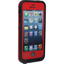 LifeProof fr Case for iPhone 5 5s SE Red Black 2101 05 B&H