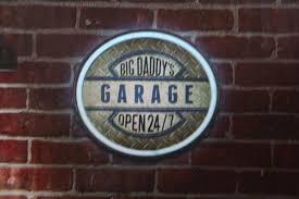 100 Big Daddy Trucking S Garage Round Led Neon Sign Diesel Power Plus Store