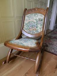 Antique Folding Oak Wooden Rocking Nursing Chair Vintage Tapestry Seat | In  East End, Glasgow | Gumtree Antique Folding Oak Wooden Rocking Nursing Chair Vintage Tapestry Seat In East End Glasgow Gumtree Britain Antique Rocking Chair Folding Type Wooden Purity Beautiful Art Deco Era Woodenslatted Armless Elegant Sewing Side View Isolated On White Victorian La20276 Loveantiquescom Rocksewing W Childs Upholstered Solid Wood And Fniture Of America Betty San Francisco 49ers Canvas Original Box