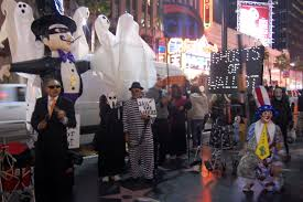 West Hollywood Halloween Parade 2014 Pictures by Ghosts Of Wall Street Occupy Hollywood Blvd Halloween Night La Imc
