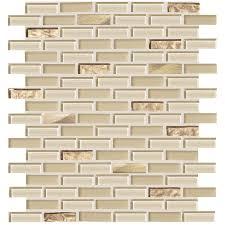 american olean mosaic tile shop american olean delfino glass cornsilk brick mosaic glass wall