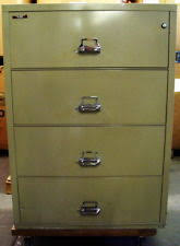 Fire King File Cabinets Asbestos by Fireproof File Cabinet Ebay