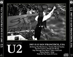 Smashing Pumpkins Rarities And B Sides Zip by Reliquary U2 1987 11 11 San Francisco California Ex Aud