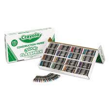 Crayola Bathtub Crayons 18 Vibrant Colors crayola construction paper crayons bulk classpack 400 count box