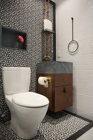 Modern Industrial Bathroom peenmedia