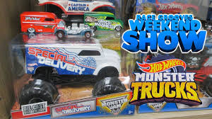 RGWS Hot Wheels Monster TRUCKS! June 29, 2018 #askracegrooves - YouTube