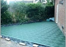 Patio Temporary Outdoor Flooring For Grass Over Best Ideas On Gra
