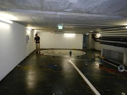 Leak Detection On The Baseplate Of An Underground Car Park