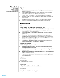 Certified Nursing Assistant Resume Objective Examples Cna Sample No Experience