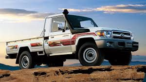 Toyota Land Cruiser Pickup : Toyota Bahrain Check Out The Reissued Toyota Land Cruiser 70 Pickup Truck The 1964 Fj45 Landcruiser Still Powerful Indestructible Australia Ens Industrial Cruisers Top Cdition Waiting For You 2014 Speed Used Car Nicaragua 2006 1981 Bj45 Second Daily Classics 1978 Hj45 Long Bed Pickup Price 79 Pick Up Diesel Hzj Simple Cabin