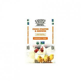 Coyote Creek Organic Feed Mill 233 50lb Chicken Starter