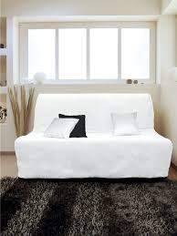 housse de canapé bz pas cher housse pour canapé bz adaptable couleur blanc pas cher