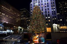 Rockefeller Plaza Christmas Tree 2014 by Christmas With Marv Harry And The Mccallisters Los Angeles Post