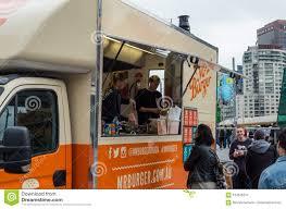 100 Brisbane Food Trucks Mr Burger Truck Parked At Federation Square In Melbourne
