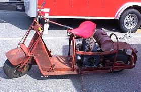 I Am Getting Ready To Restore A 1946 Cushman Model 53A Civilian Airborne One Thing You Need When Restoring Scooter Is Picture Of An Original