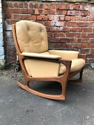 Vintage Mid Century Rocking Chair | In East End, Glasgow | Gumtree Ancestral Rocking Chair Gio Ebony Antique Rocking Chair Sold The Savoy Flea With Sewing Drawer Collectors Weekly How To Update A Pair Of Wornout Chairs Hgtv A Country Sheraton Youth Sized Thumb Back Rocker 19th Century For Safavieh Alexei Natural Brown Acacia Wood Patio Windsor Kitchen Stripe Caning Seat Weaving Handbook Illustrated Wooden Stock Photos Upholstered Redo Prodigal Pieces