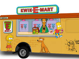 100 Hollywood Food Trucks A Simpsons KwikEMart Squishee Truck Is Comi
