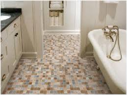 Non Slip Vinyl Flooring Bathroom Luxury Options Types Of