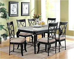 Black Marble Dining Table Refurbished Room 8 Person Picture White