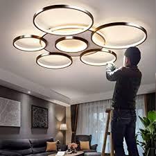 deckenleuchte led dimmbar deckenle mit fernbedienung groß wohnzimmerle modern lichtfarbe helligkeit einstellbar schlafzimmerle esszimmer