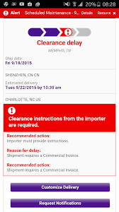 Has Anyone Else Gotten A Clearance Delay On Their FedEx Tracking ... Ambizplatumcardfedextracking Travel With Grant Truck Trailer Transport Express Freight Logistic Diesel Mack Is There A Reason Why People Use Upsfedex Over Usps For Small Pshing Nofication Fedex Tracking Information Technology Services West Of Omaha Ltl Edition The Fedex System Taken Down Official Blog Truck Hit By Train In Utah Youtube Wabash Duraplate Dryvan Skin Ats Mod American Simulator Prting Shipping Labels Legendborne How To Send Perishable Food Through Bizfluent