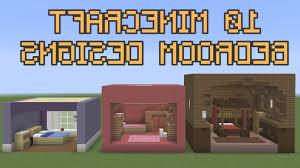 10 Minecraft Bedroom Designs Youtube Inside Ideas
