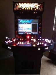 4 Player Arcade Cabinet Dimensions by Mame Arcade Machine 4 Person Ohio Youtube For Our Home
